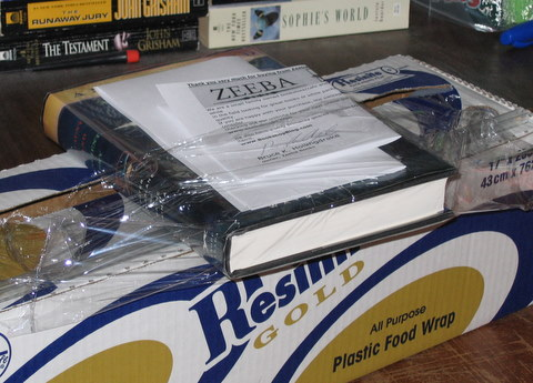plastic wrap for book packaging