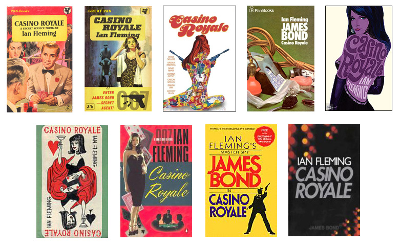 Casino Royal Book Covers